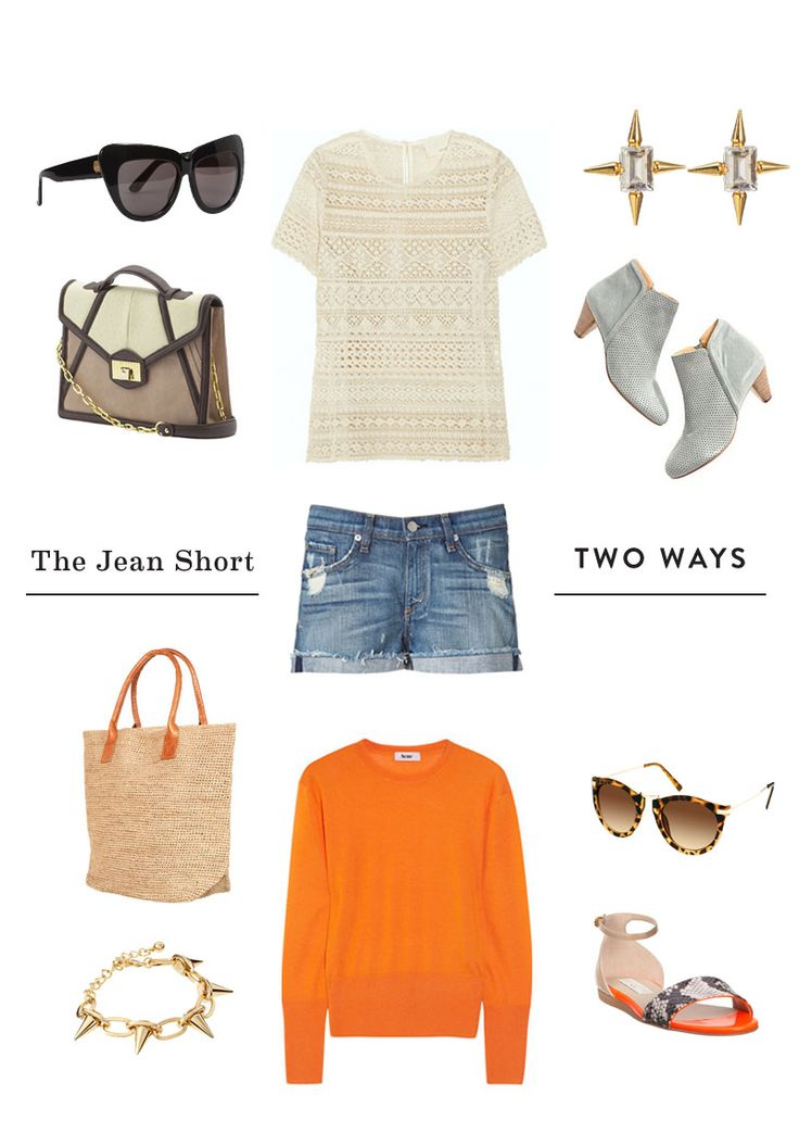 Jean Shorts | Two Ways
