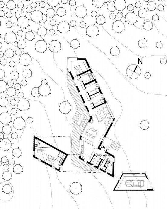 Arkitektur arkitektur sweden : pS Arkitektur have designed Villa Blåbär, a house located in Nacka ...