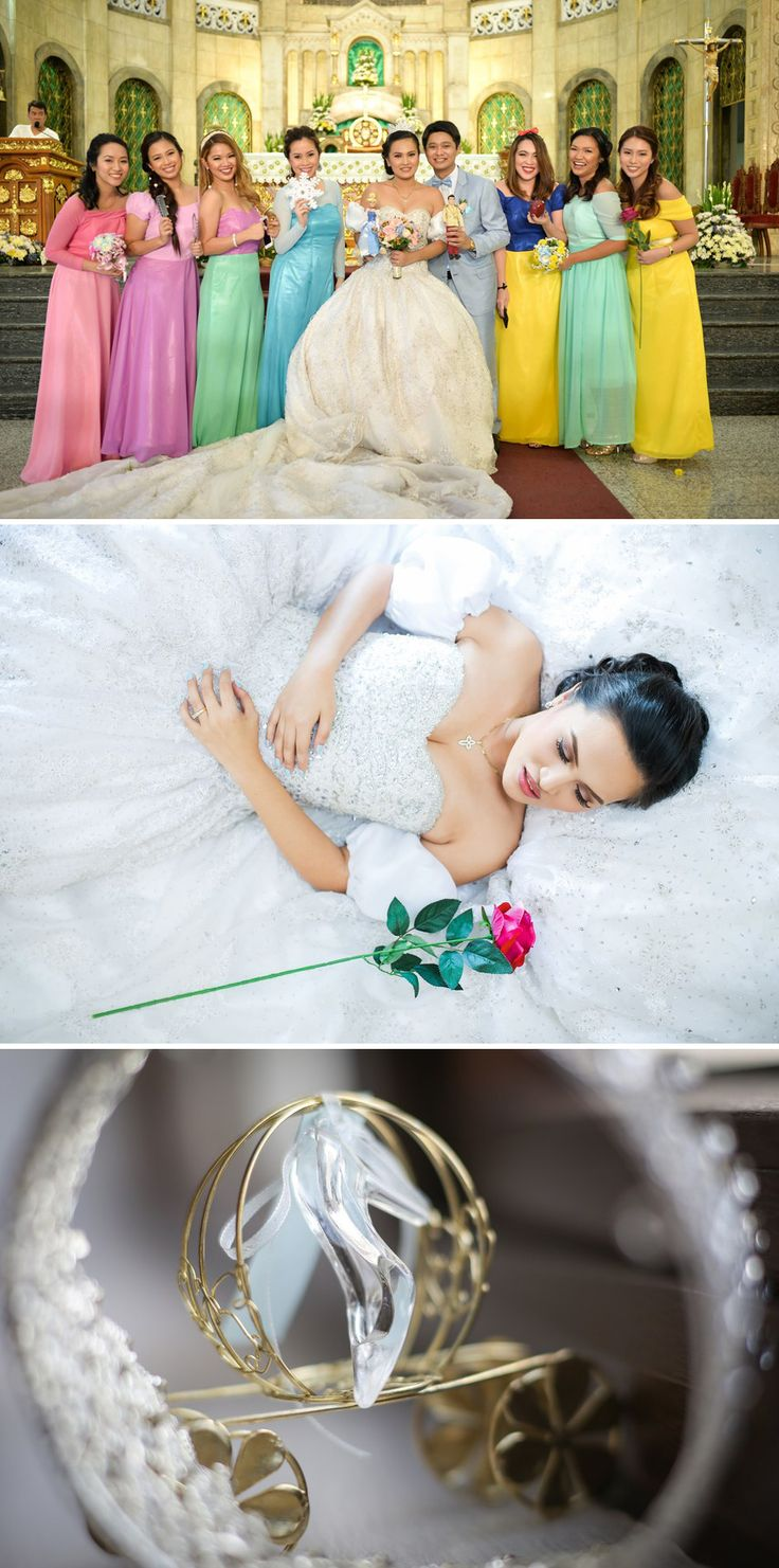 The 25 best disney princess bridesmaids ideas on pinterest disney princess bridesmaids ombrellifo Gallery