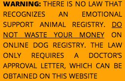 emotional support animal doctor
