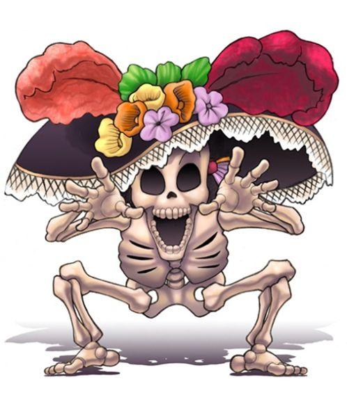 La calavera literaria es una composición en verso tradicional en México. Suelen escribirse en vísperas del Día de los muertos.