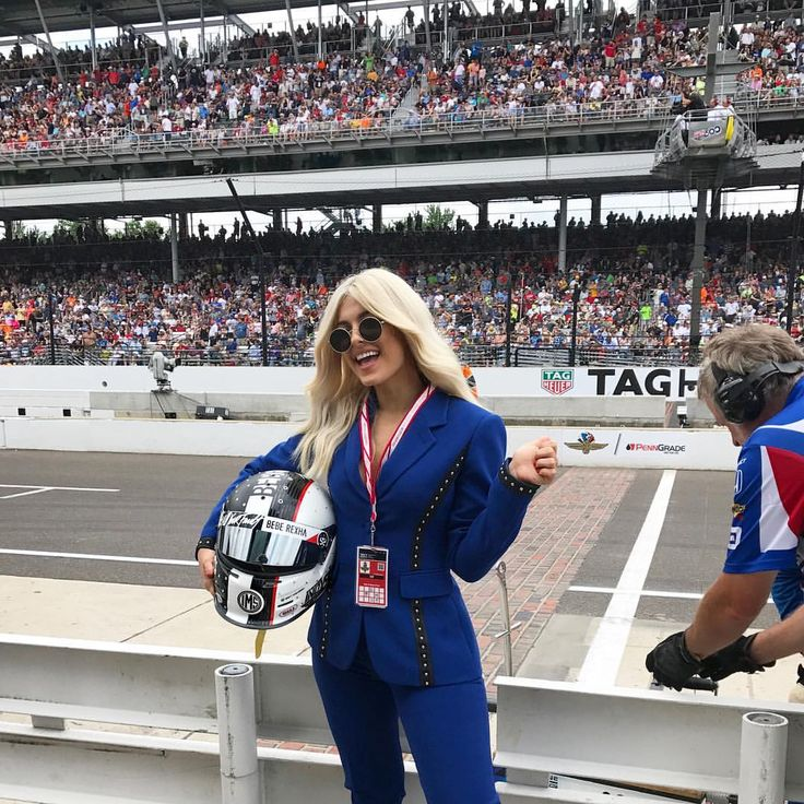 """11.5k Likes, 160 Comments - Bebe Rexha (@beberexha) on Instagram: """"Best Day EVER!!!!! ❤️❤️❤️ #indy500"""""""