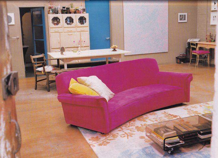 1998 industrial style living with a pink kitsch twist, courtesy of ...