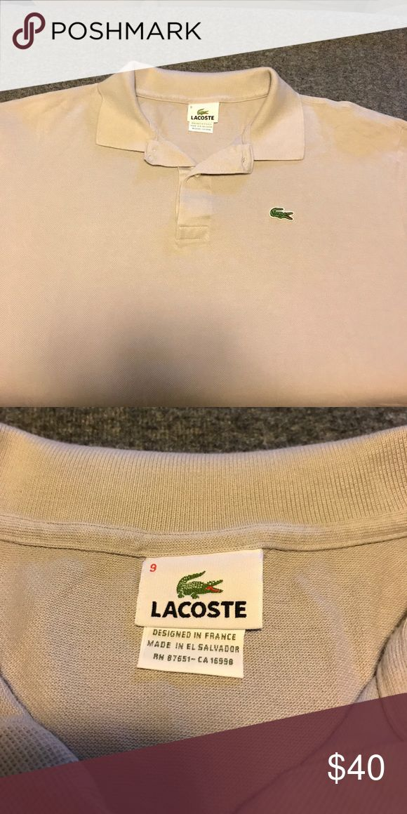 Lacoste polo shirt NWOT never worn, I have too many grey polo shirts and unfortunately this one didn't make the rotation! Lacoste Shirts Polos