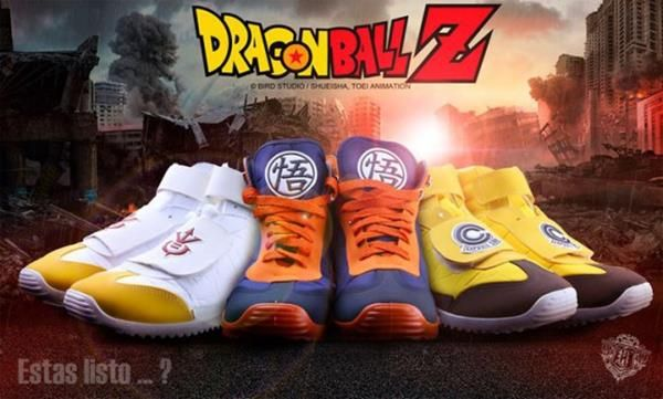 """These """"Dragonball Z"""" Sneakers Are Super Saiyan Sweet Read more at http://fashionablygeek.com/shoes/these-dragonball-z-sneakers-are-super-saiyan-sweet-video/#zt3akVlgLFXEB8PX.99"""