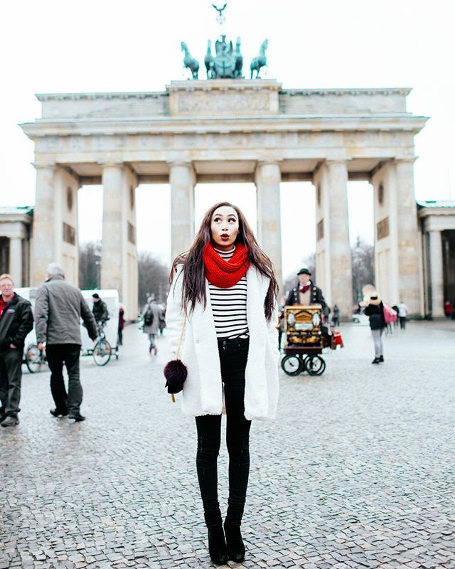 When Germany turns you fashion blogger af.