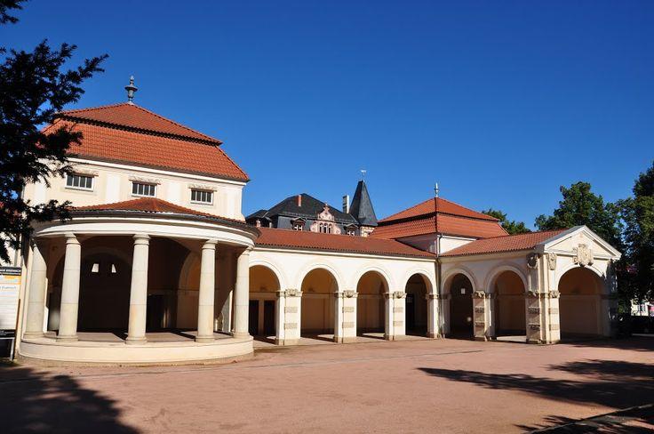 Wandelhalle, Karthausgarten, Eisenach, Thüringen, Germany