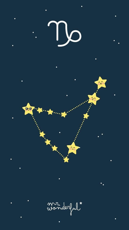 Wallpapers Mcp Papel De Parede Estrelas Constelacao De Capricornio Papel De Parede De Girassol