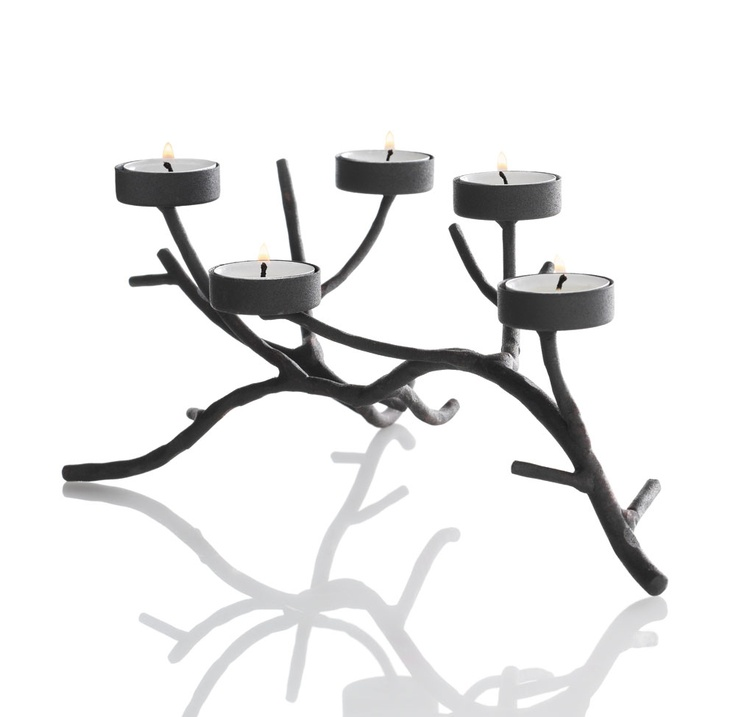a branch of tealight candles for your home decor elle kohls
