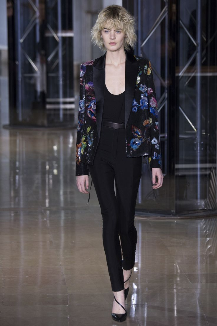 Anthony Vaccarello Fall 2016 Ready-to-Wear Fashion Show - Celine Bouly