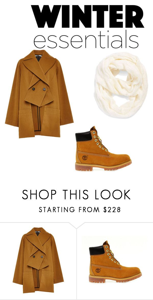 """free winter"" by yumenaisenpai on Polyvore featuring Rosetta Getty, Timberland and Echo"