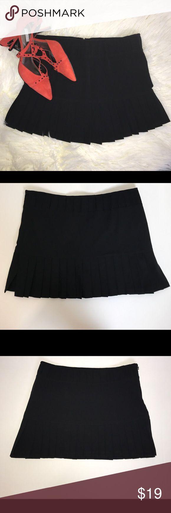 Buffalo David Bitton Buffalo Black Skirt Size 2 Buffalo David Bitton black pleated mini skirt. Size 2 Buffalo David Bitton Skirts Mini