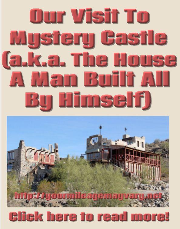 A #bizarre #mansion with a #history of #secrets & #heartaches in #phoenix #arizona #Gulley #Monkee #monkeesontour #last #episode #first #season #mickydolenz #dolenz #house #castle #mystery #weird #wacky #eccentric #creative #artistic