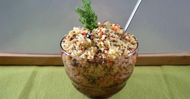 """""""Κινότο"""" λαχανικών - Vegetable and quinoa pilaf"""