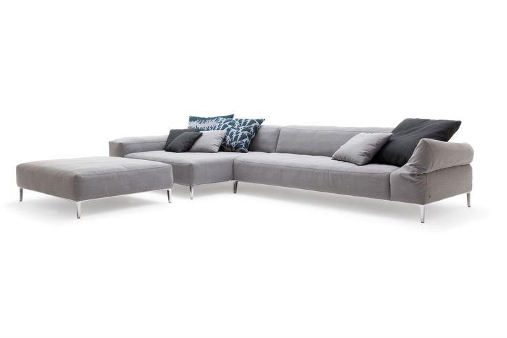 Rolf Benz AREO sofa line. Rolf Benz Studio, Boston, MA.
