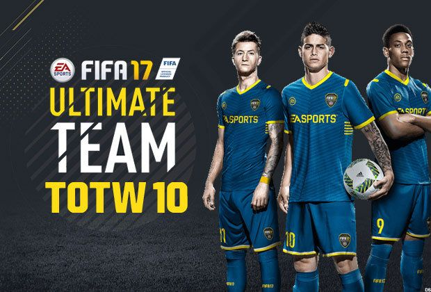 FIFA 17 UPDATE: TOTW 10 LIVE for FUT Ultimate Team as Black Friday deals near