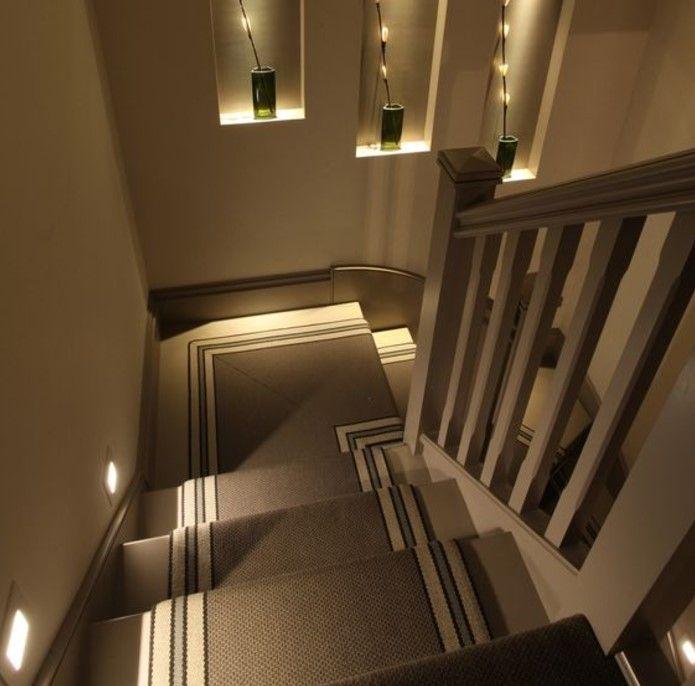 Commercial Basement Stair Lighting: Best 25+ Stairway Lighting Ideas On Pinterest
