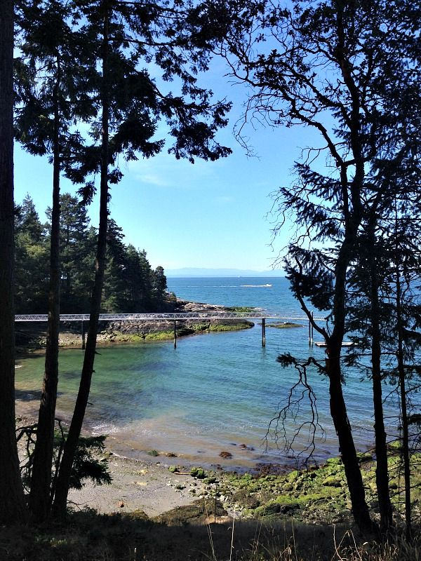 Looking for a family day trip from Vancouver that combines natural beauty with modern comforts? Sail away for a day to beautiful Bowen Island. | thetravellingmom.ca | family travel tips