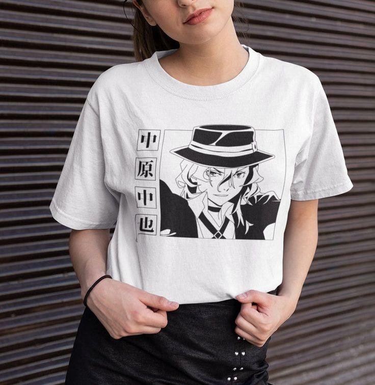 Chuuya nakahara tshirt port mafia anime shirt unisex