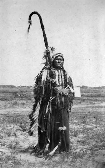 Powder Face (aka Gun Powder Face) - Arapaho - 1867