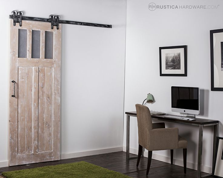 Great office space hardware for Rustic hardware barn doors