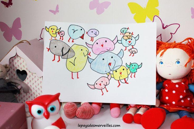 transformer des cercles en oiseaux (2)