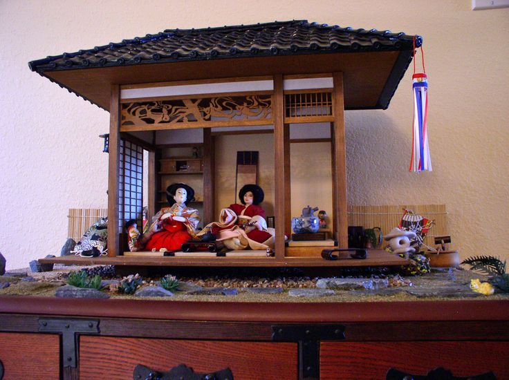 Japanese Tea House House Kits And Black Tiles On Pinterest
