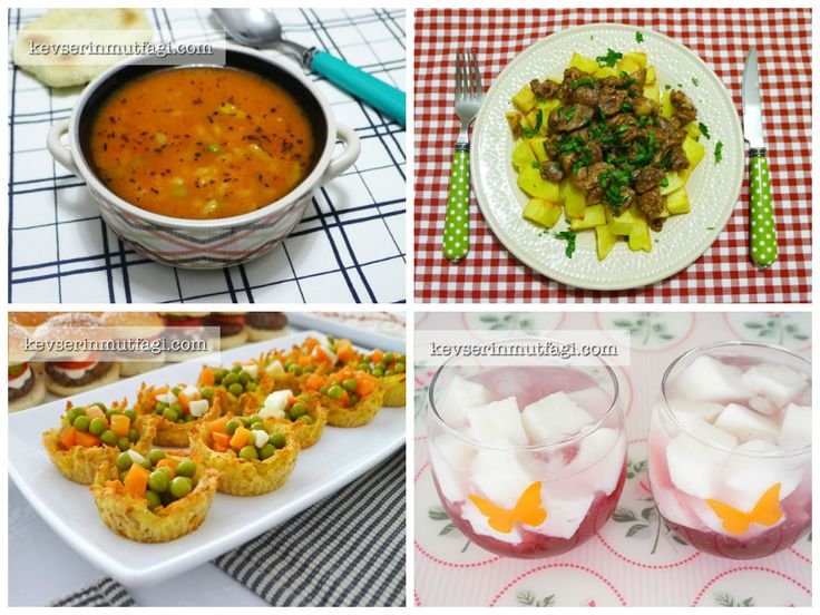 Günün Menüsü 26 Ağustos - Kevser'in Mutfağı - Yemek Tarifleri