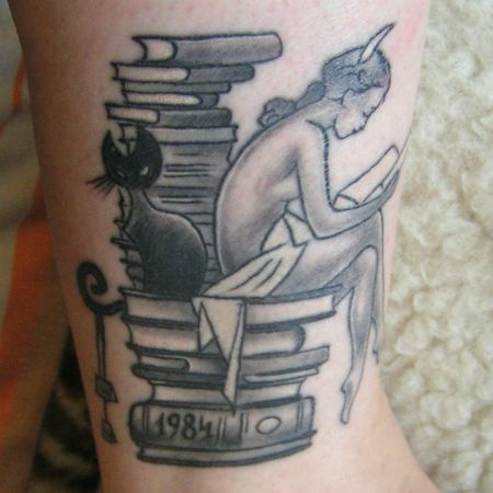 1984 george orwell tattoo images for Tattoos in reading pa