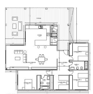 17 mejores ideas sobre modelos casas prefabricadas en for Diseno chalet una planta