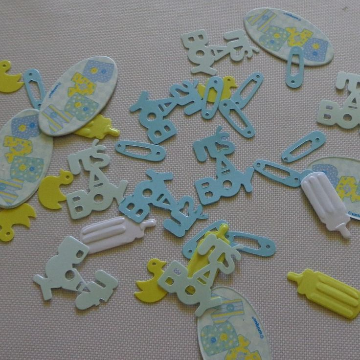 Blue Stitch Themed Table Scatters