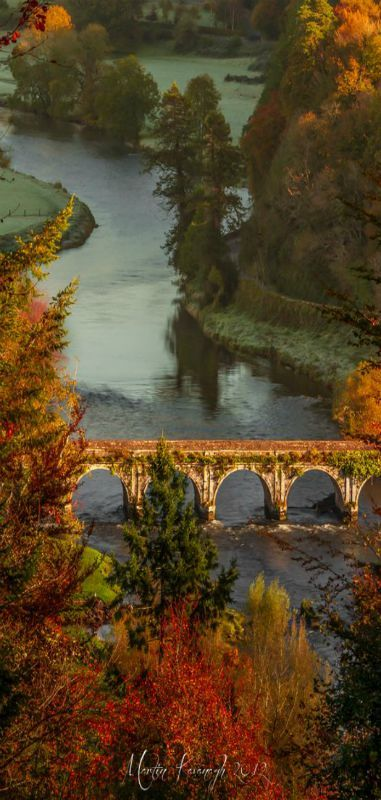The Inistioge Bridge in County Kilkenny, Ireland • photo: Martin Kavanagh on 500px