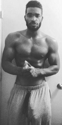 Black Gay dick giant