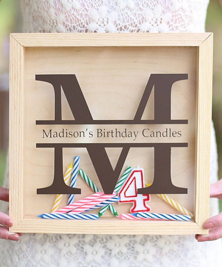 Look what I found on #zulily! Personalized Birthday Candle Keeper by Morgann Hill Designs #zulilyfinds