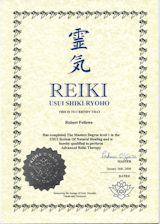 pin reiki certificate printable - photo #40