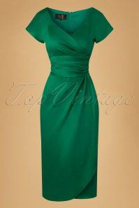 House of Foxy Dolce Vita Green Dress 100 40 20051 20161025 0011w