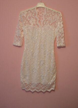 Kup mój przedmiot na #Vinted http://www.vinted.pl/kobiety/krotkie-sukienki/9861552-biala-mini-obcisla-koronkowa-sukienka