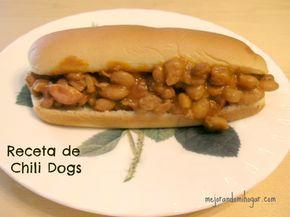 Receta Chili Dogs tipo Monterrey para Fiestas Infantiles o para el antojo.
