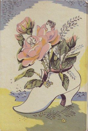 Barbara Jones: Back cover illustration for 'The Isle of Wight', published by King Penguin in 1950
