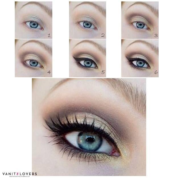 Ben noto 109 best Make up Tutorial images on Pinterest | Beauty makeup, Eye  GV15