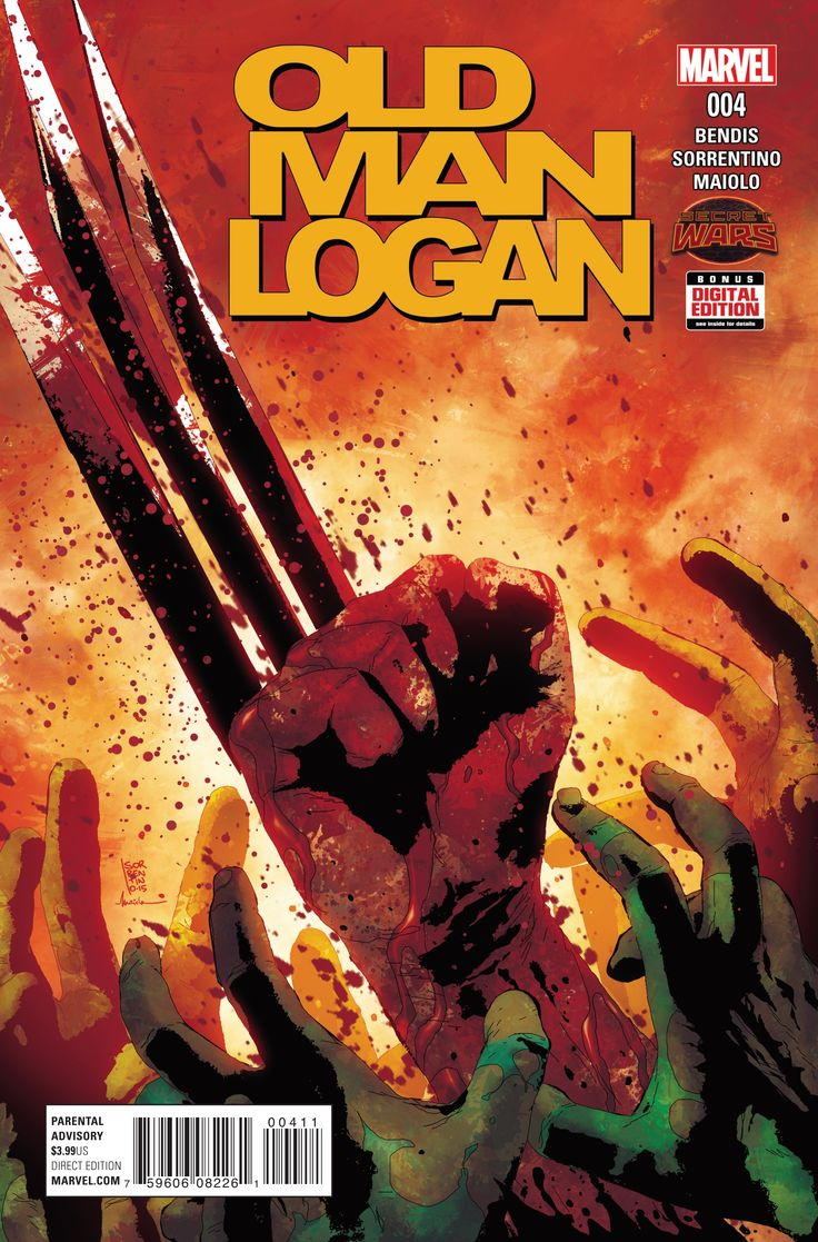Preview: Old Man Logan #4,   Old Man Logan #4 Story: Brian Michael Bendis Art: Andrea Sorrentino Covers: Andrea Sorrentino & Homare Publisher: Marvel Publication Date...,  #All-Comic #All-ComicPreviews #AndreaSorrentino #BrianMichaelBendis #Comics #Homare #Marvel #OLDMANLOGAN #previews