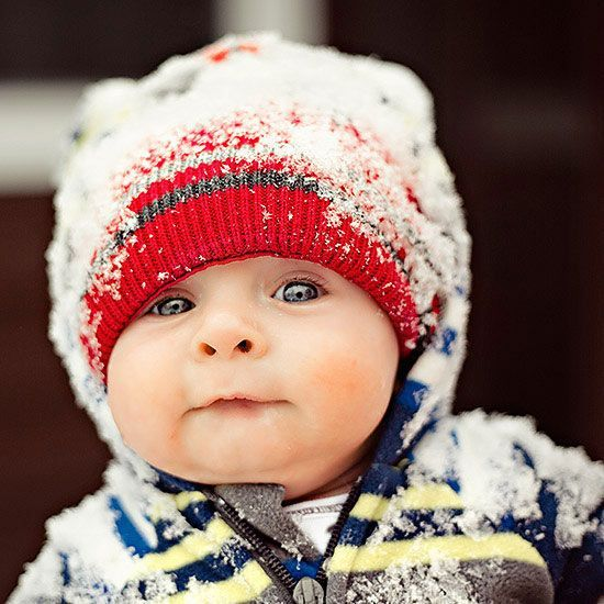 Dressing Your Baby For Winter