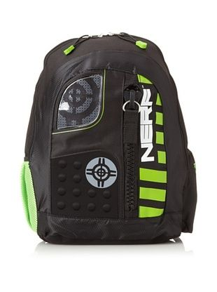 40% OFF Nerf Unisex-kids Backpack, Black Multi, One Size