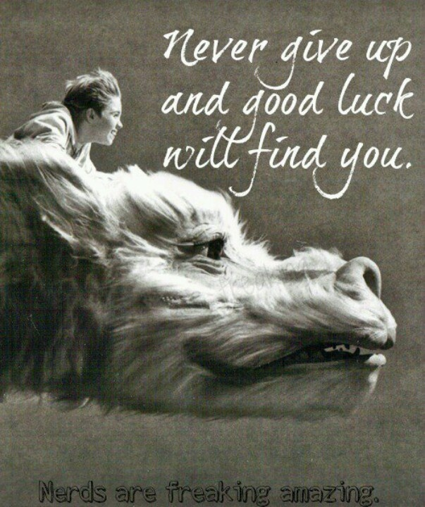 The Neverending Story, Falcor the Luck Dragon <3