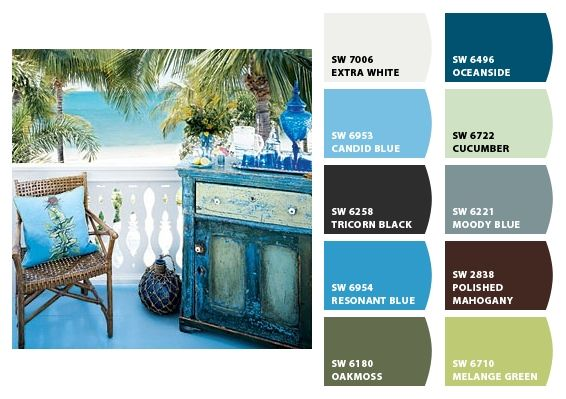 Tropical Colors Hotel Home Pinterest
