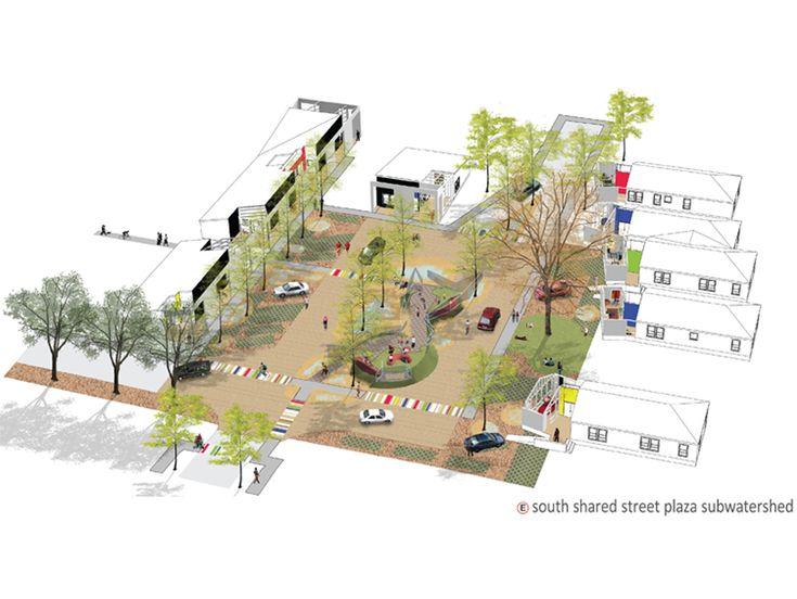 Arkansas CDC (public space drawing)