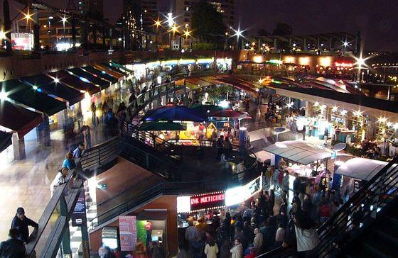 Larcomar, uno de los mejores centros comerciales en Lima.