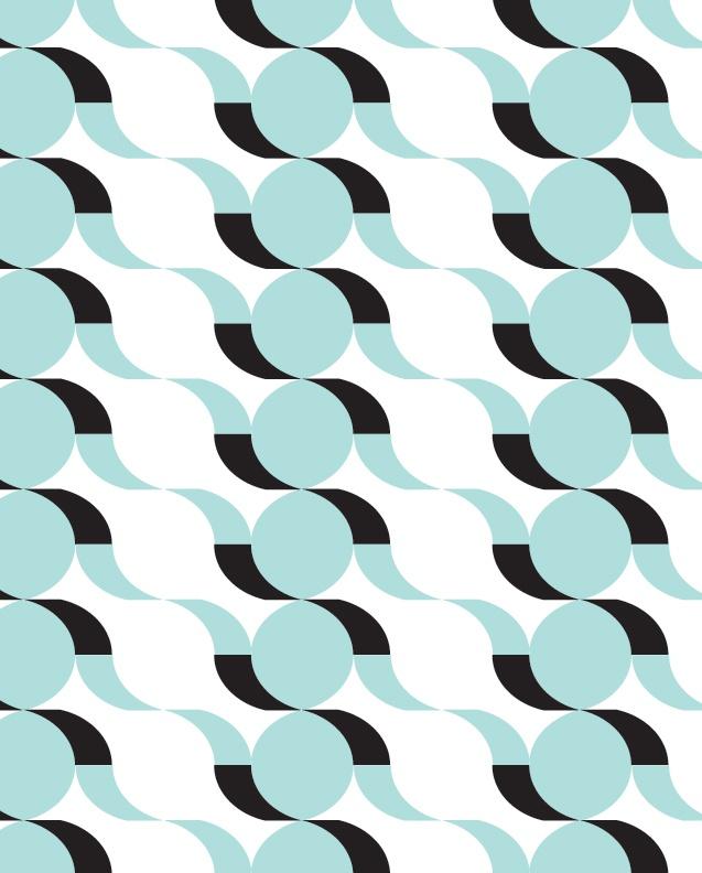 'Wave' pattern: Maja Modén