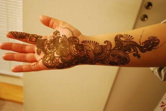 Simple And Easy Arabic Mehndi Designs