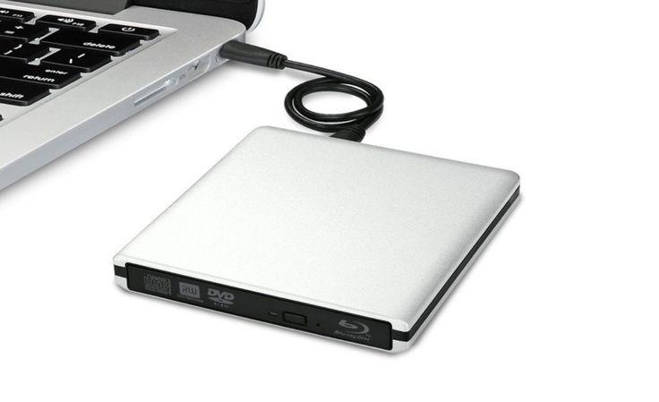 Masterizzatore Blu-ray in alluminio stile Mac: sconto di 18 euro con codice